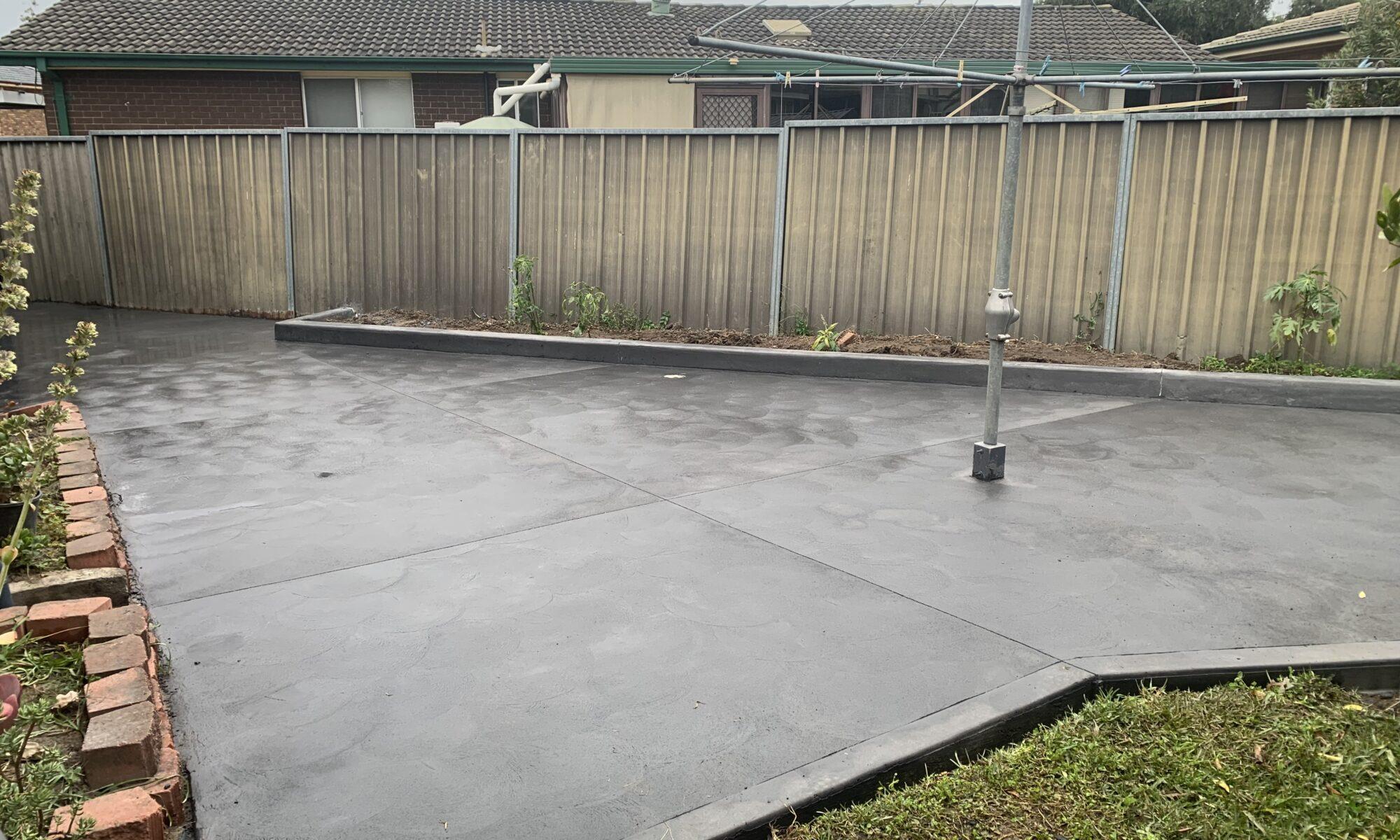 Concrete Shed Slabs in Sydney